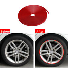 Motorcycle Car Reflective Wheel Hub Tire Rims Protective Sticker Decal Durable