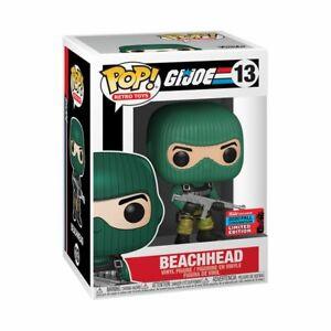 G.I. Joe - BEACHHEAD - NYCC 2020 - Funko POP! Vinyl - New