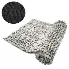 Bath Mat Non Slip Chenille Bobble Bathroom Rug Thick Shaggy Floor Bathmat 50x80