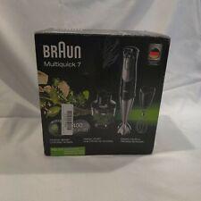 Braun MultiQuick 7 MQ725 Handheld Blender - Premium Black/Stainless Steel