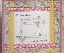 Make do and mend quilt pattern by This & That