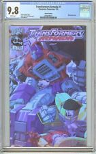 Transformers Armada #1 CGC 9.8 White Pages (2002) 2058699015