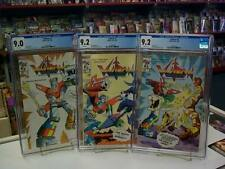 VOLTRON #1-3 (Modern Comics, 1985) CGC Graded SET ~ WHITE Pages