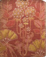 Antique English Arts & Crafts fabric sample Voysey William Morris style