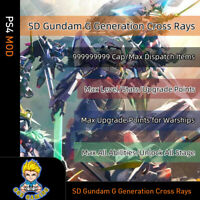 SD Gundam G Generation Cross Rays (PS4 Mod)-Max Cap/Level/Stats/Upgrade Point