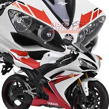 yamaha R1 2007 2008  - kit adesivi replica colore rosso nero per moto bianca
