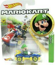 Hot Wheels Mario Kart Luigi Mach 8 Die-Cast 1:64 Toy Car New
