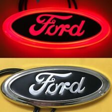 4D LED Car Tail Logo Red Light for Ford Focus Mondeo Kuga Auto Badge Light