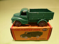 DINKY TOYS DUBLO 064 AUSTIN LORRY - GREEN - NEAR MINT IN BOX