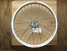 EXCEL PRO SERIES WHEEL OFF ROAD FRONT SILVER RIM / BLACK HUB 21 X 1.6 UF1AS412