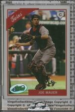 JOE MAUER 2009 eTopps #50 Minnesota Twins IN HAND #/599