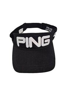 Ping G30 Black Visor Hat Golf Adjustable Fit