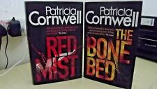 PATRICIA CORNWELL - RED MIST & THE BONE BED, 1st EDITION HARDBACKS
