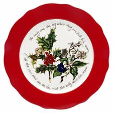 Portmeirion The Holly and The Ivy Charger Plate, Dia.33cm (528277)