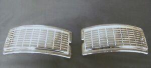 1948 1949 1950 Ford Pickup Truck Parking Lamp Lenses PAIR 48 F-Series 7C-13208