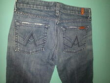 "7 For All Mankind ""A Pocket"" Boot cut Women's Jeans Size 27, inseam 33"