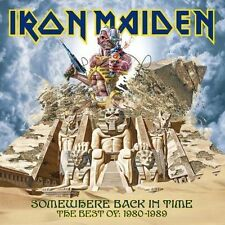 Iron Maiden Somewhere Back in Time The Best of 1980 - 1989 CD Unsealed