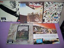 LED ZEPPELIN SUPER SET OF  5 180 GRAM VINYL LP's #1 - #5 SEALED BRAND NEW