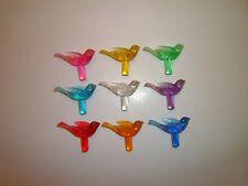 27 Detail Doves Birds For Ceramic Christmas Tree Bulbs 9 Colors
