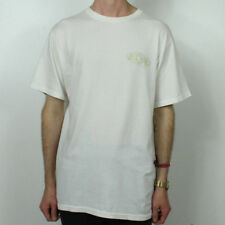 Stussy Atomic Pigment Dyed T-Shirt Top in White in size S,M,L