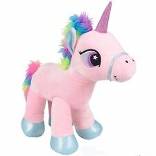 "16"" Plush Unicorn Stuffed Pony Toy rm5117"