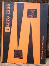 1950 ILLIO Yearbook UNIVERSITY of ILLINOIS Fighting Illini Mid Century Edition