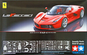 Tamiya La Ferrari 24333 1/24 model car kit officially licenced