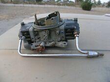Holley 800 Cfm Double Pumper Carburetor 4780 With Chrome Fuel Rail Free Shipn 48