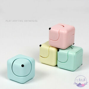 Candy Color Fidget Cube Kids Desk Fiddle Cube GYRO Adults Stress Relief ADHD Toy