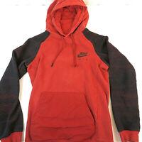 Nike Air Men's XS Burnt Orange Hooded Sweatshirt - Boys Large Youth Hoodie