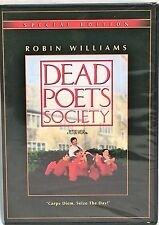 NEW 15th ANNIV SPECIAL ED DEAD POETS SOCIETY REG 1 DVD; ROBIN WILLIAMS; FS
