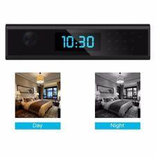 Wireless Mini 1080P 168° WIFI SPY Hidden Camera Clock Nanny Video Recorder Audio