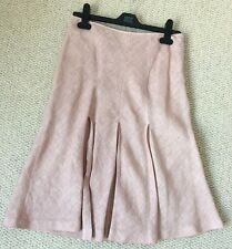 CP Company Size 40  100% Linen Salmon Pink Summer Skirt