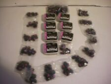 Huge Lot of 28 Sets Softspike Black Widow Qfit Golf Cleats for Nike & Etonic