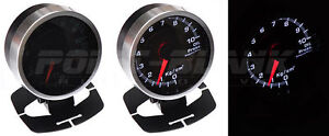 60mm Electronic Exhaust Temperature Gauge - White Backlit Defi/JDM Style