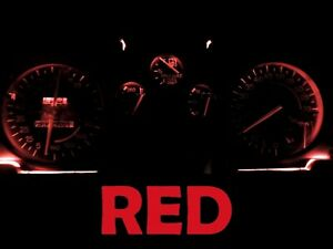 Gauge Cluster LED Dashboard Bulbs Red For Chevy 82 89 Camaro IROC Z28