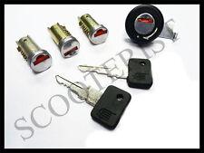 Vespa LML Seat Handle Steering Toolbox Lock Barrel Set of 4 PX P Lusso MY Cosa