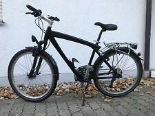 BMW Fahrrad Gr M RH47cm Herren Damen Unisex Schwarz 26 MTB Mountainbike Citybike