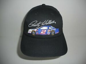 Vintage K Products NASCAR Miller Lite Rusty Wallace Snapback Cap Hat NWT