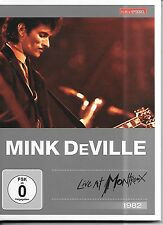 DVD Mink DeVille 'Live at Montreux 1982' NUOVO/NEW Kulturspiegel Edition DTS 5.1