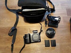 Samsung NX NX1000 20.3MP Digitalkamera - Schwarz ohne Objektiv