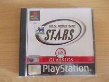 The FA Premier League Stars Classic (Sony PlayStation 1, 1999)