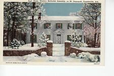 Superintendents Home in Winter  Western Methodist Assembly Fayetteville AR  Ark