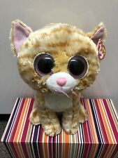 "Ty Beanie Boos Tabitha The Cat. Medium Buddy~9"" NWMT. * Smoke free House *"
