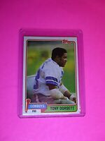 1981 Topps TONY DORSETT Dallas Cowboys #500 HOF NmMt High Grade