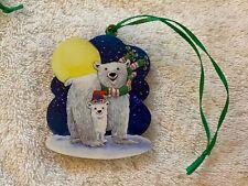 Stave Puzzle Christmas Ornament 2007 - Polar Bears