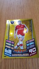 Cesc Fabregas Arsenal Match Attax Legend 12/13