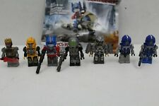 Transformers Kre-O lot Age of Extinction Dino Rider Optimus Prime Galvatron