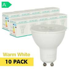 10 Pack 7W GU10 LED Bulbs 50Watt COB Spotlight Warm White Down lights Lamps A++