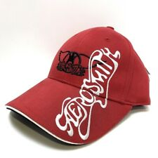 More details for aerosmith o, yeah! red  rare vintage official baseball cap